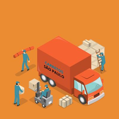 Empresa de mudanças e carretos em São Paulo